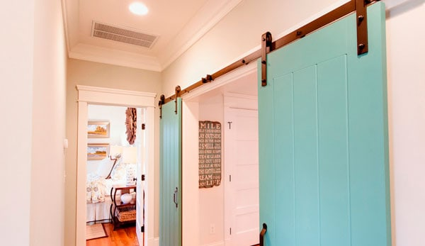 turquoise-barn-doors