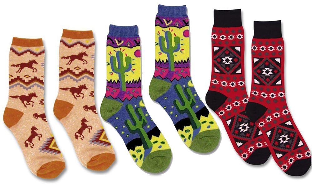 western winter socks