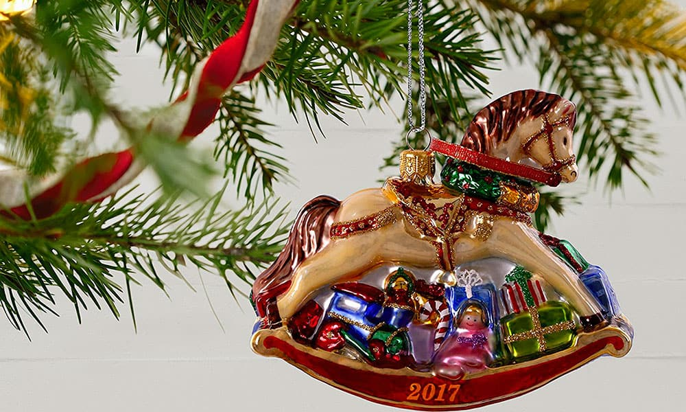 hallmark christmas ornaments horse horses cowgirl magazine - Hallmark Christmas Decorations
