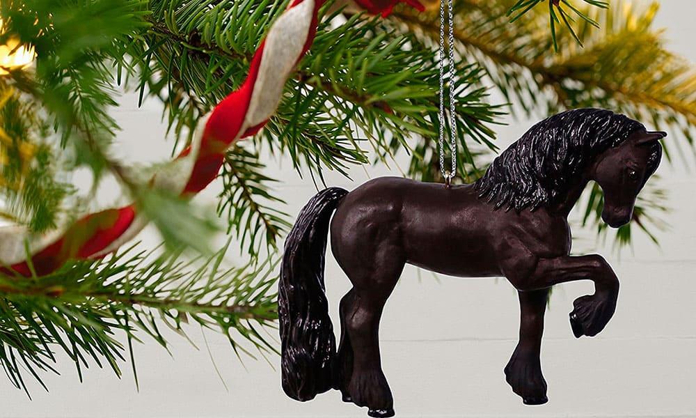 hallmark christmas ornaments horse horses cowgirl magazine - Horse Christmas Ornaments