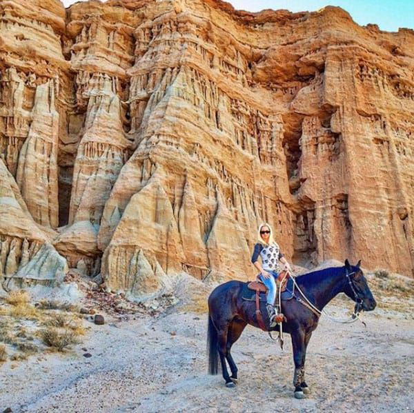 Riding On Roan Cowgirl Magazine Horse Travel