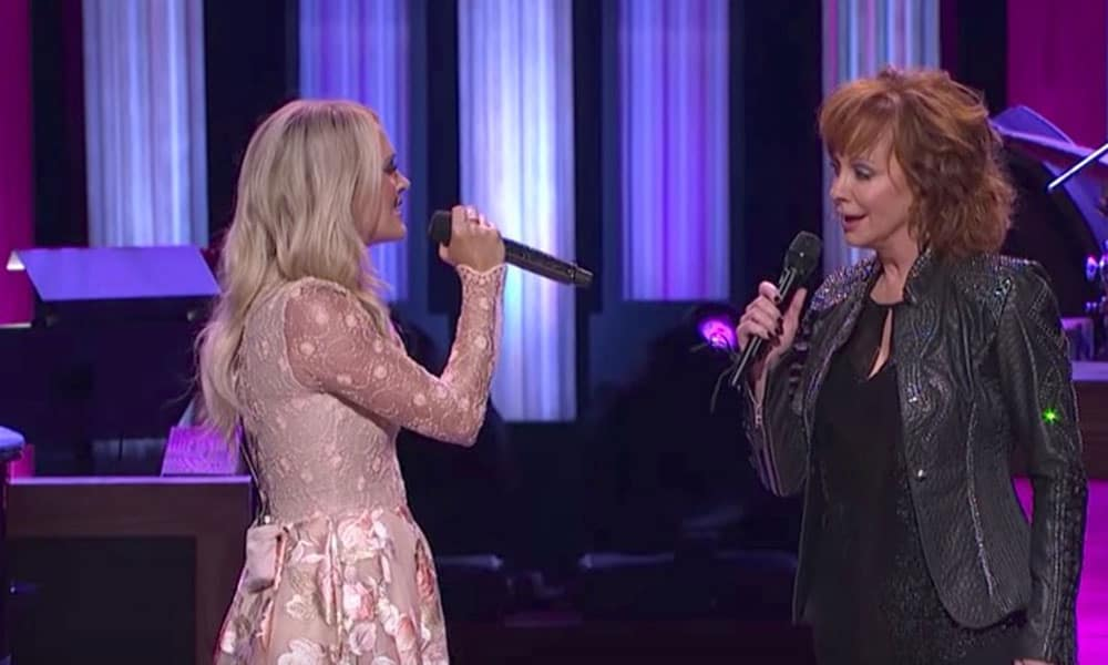 Reba McEntire Carrie Underwood Opry Country Singer Cowgirl Magazine
