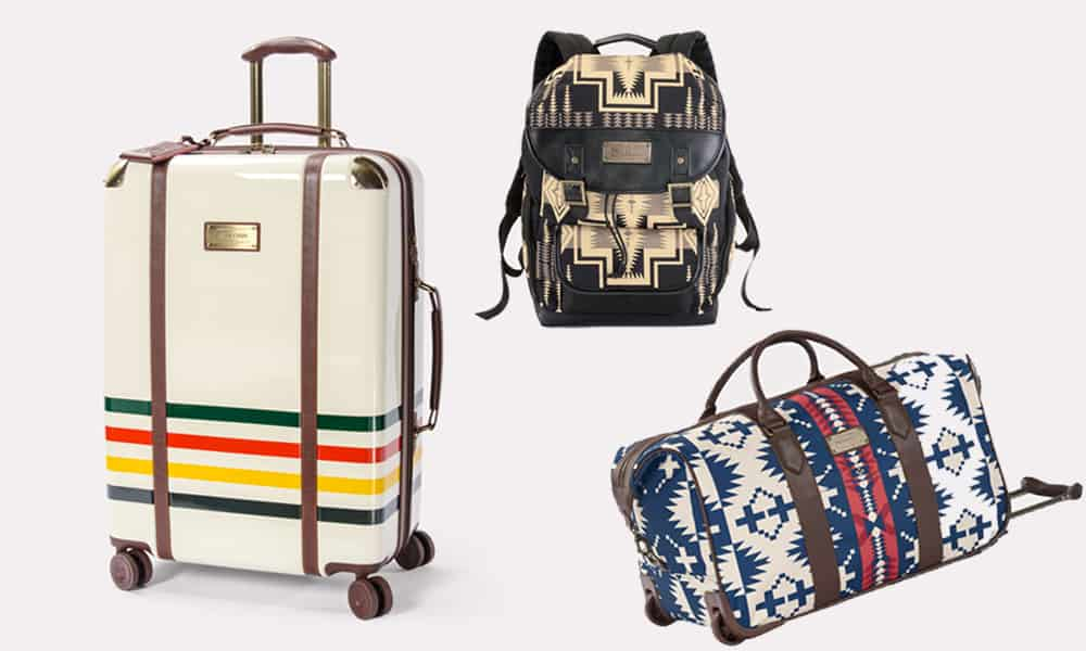 Pendleton luggage bag bags luggage set aztec travel traveling cowgirl magazine