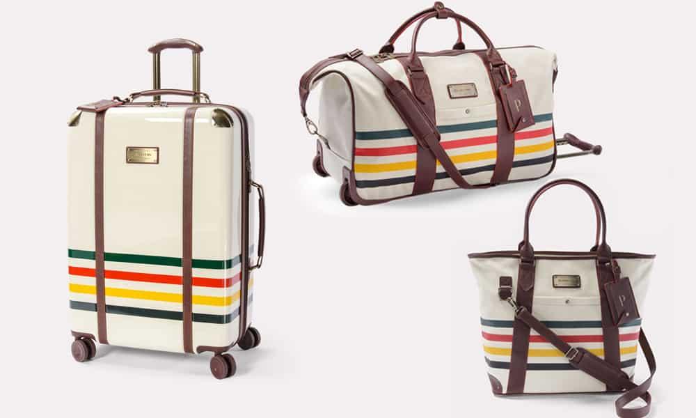 Pendleton luggage bag bags luggage set aztec travel traveling cowgirl magazine