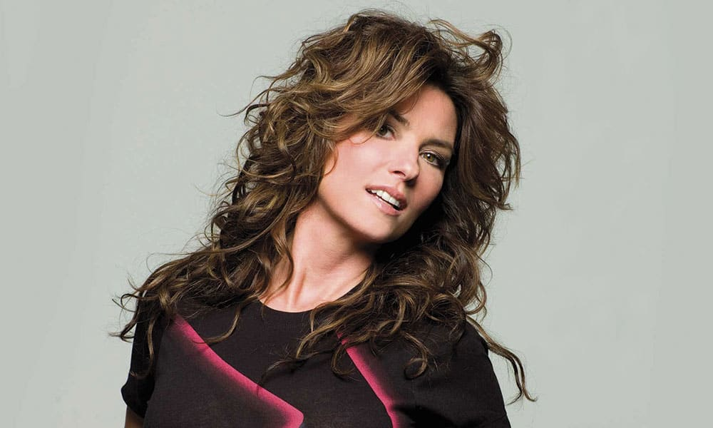 Shania Twain Country Singer Cowgirl Magazine
