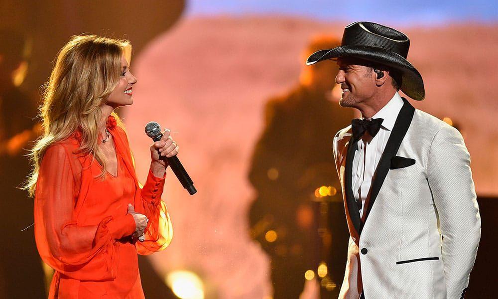 Faith Hill Tim McGraw Country Music CMA Awards Cowgirl Magazine