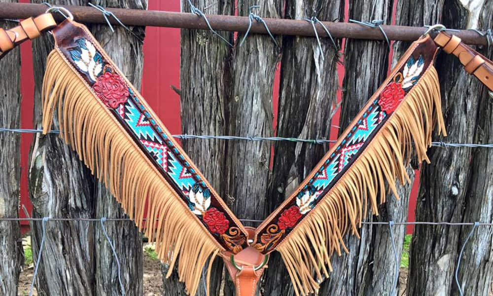 Horse Tack Breast Collar Breast Collars Cowgirl Magazine