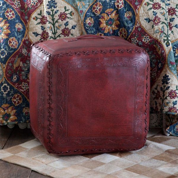 ottomans ottoman western home cowgirl magazine