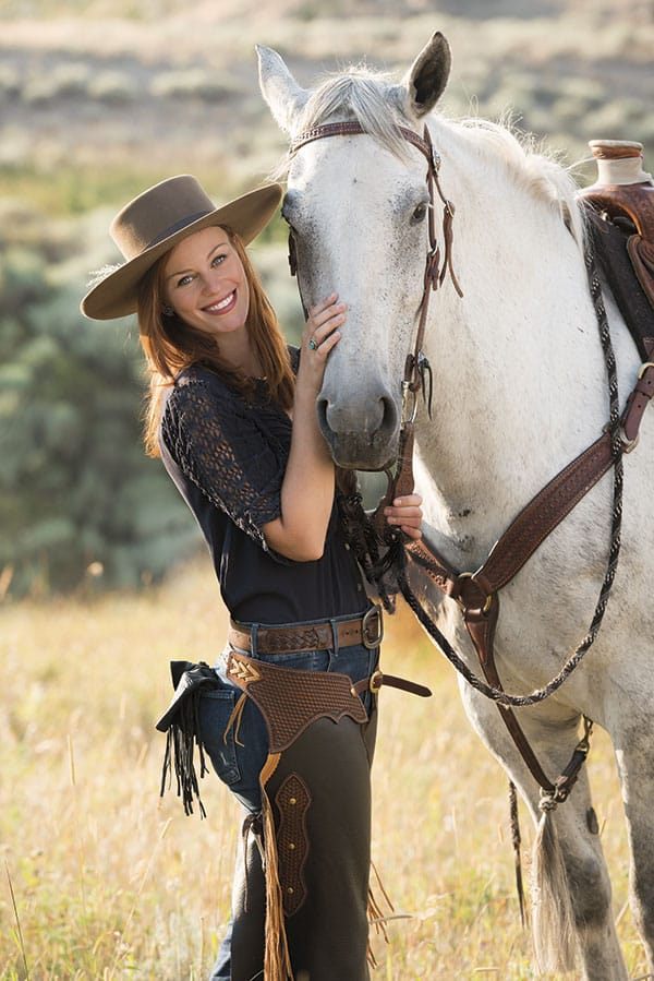 CASSIDY FREEMAN, FREEDOM TO RIDE - November/December 2017 Photo by Audrey Hall