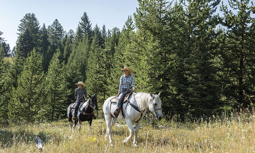 Lone Mountain Ranch Cowgirl Magazine
