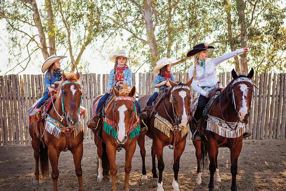 TACK TRENDS - Cowgirl January/February 2017 Photo by Rodeo Quincy