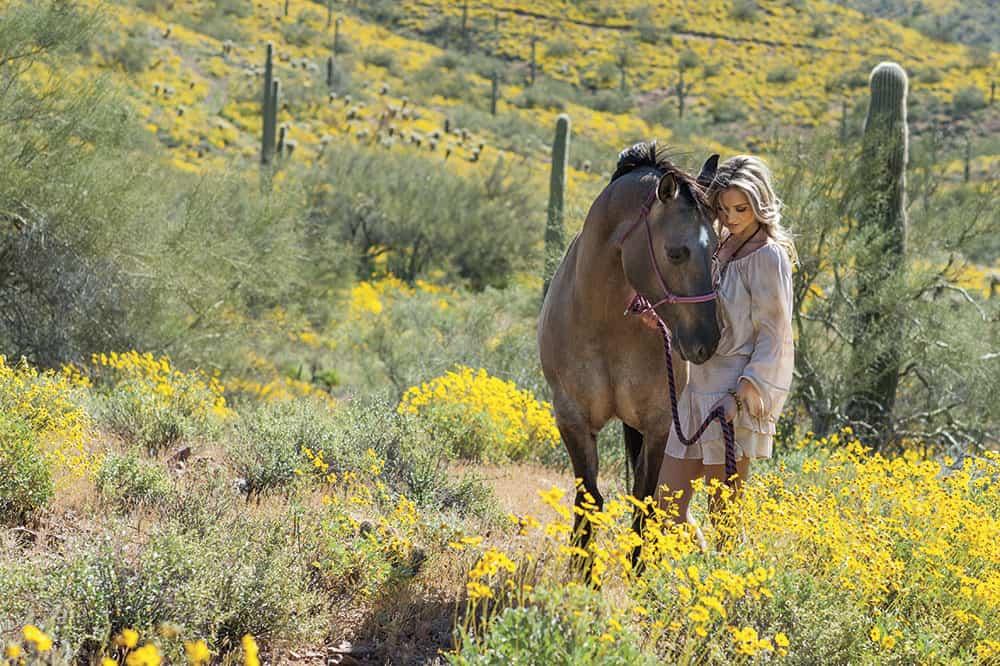 SARAH DARLING - Cowgirl Magazine July/August 2017 Photo by Ken Amorosano