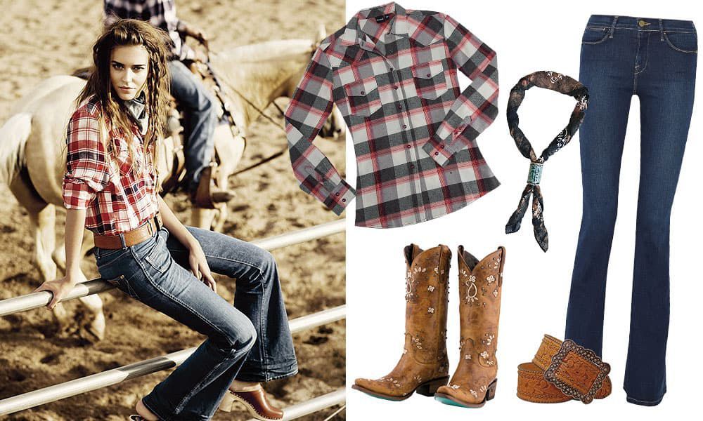 trends plaid cowgirl magazine