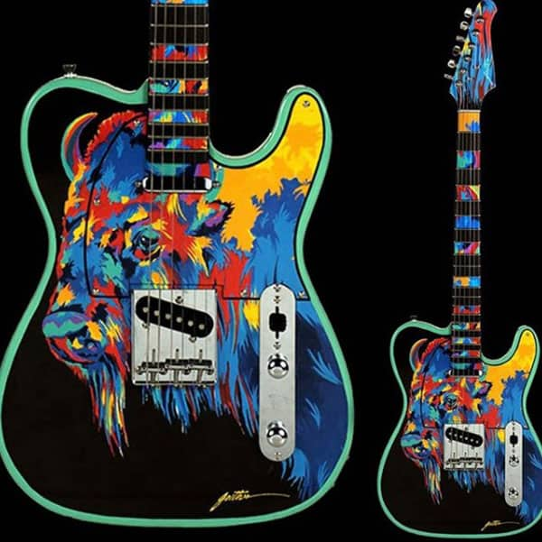 Art Guitars Rick Hublein Cowgirl Magazine