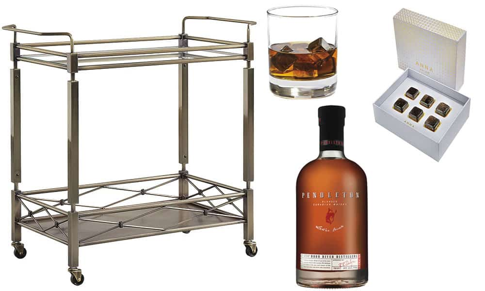 Bar Cart Holiday Parties Cowgirl Magazine