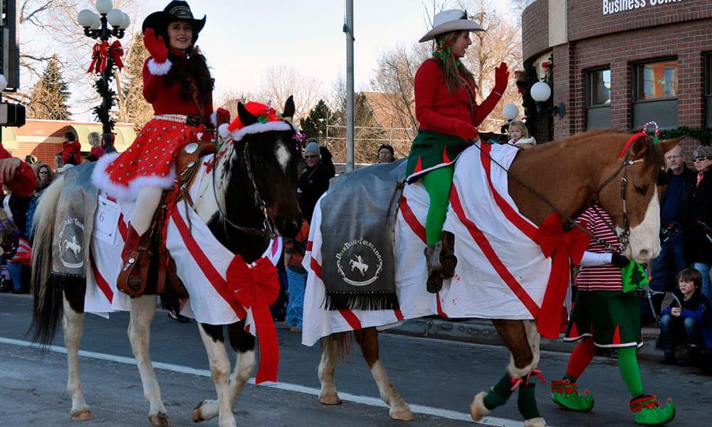 Horses Horse Christmas Costumes Cowgirl Magazine
