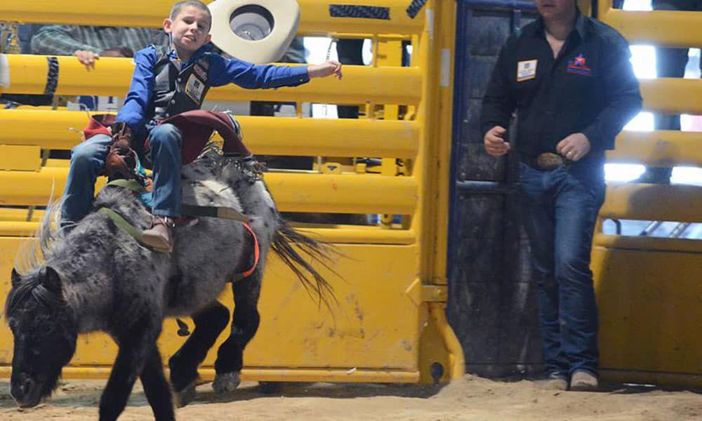 Pint-Sized Cowboys Jr NFR Cowgirl Magazine