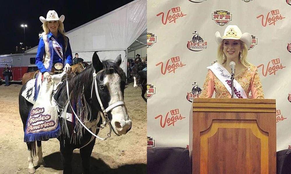 Keri Sheffield Miss Rodeo America 2018 Cowgirl Magazine