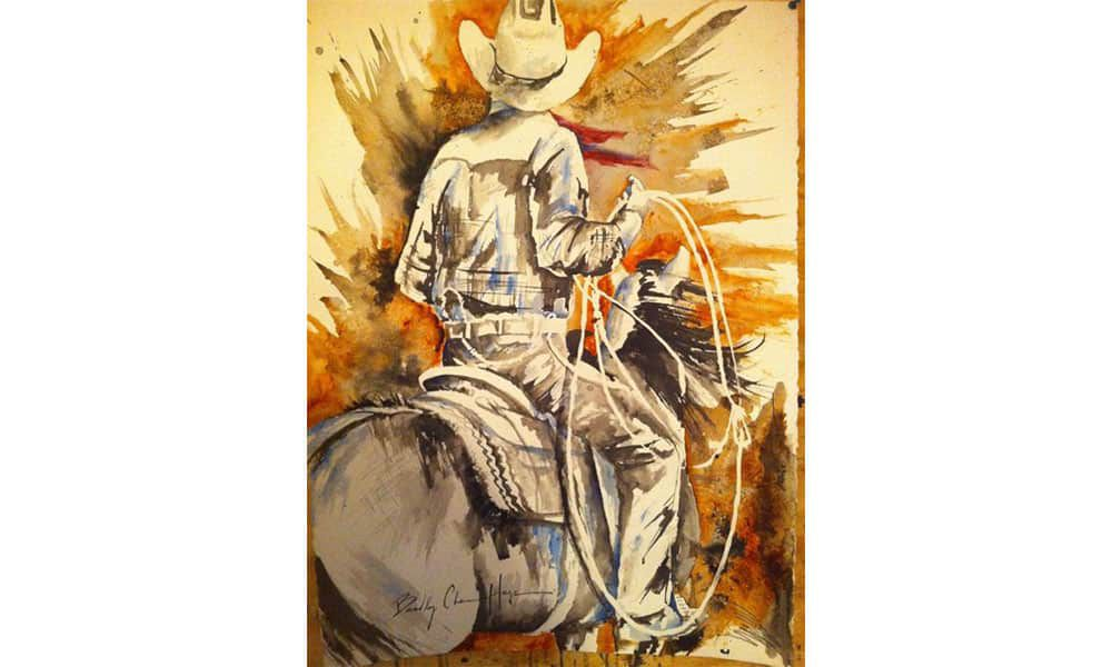 bradley chance hays painter paintings cowgirl magazine