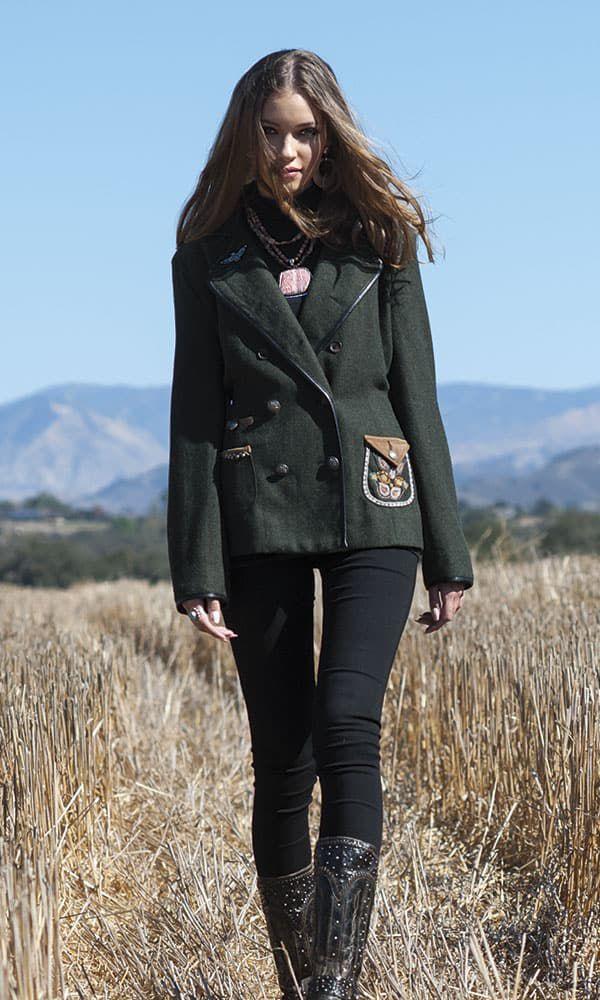 Cowgirl Winter Fashion by Ken Amorosano Refugio Road