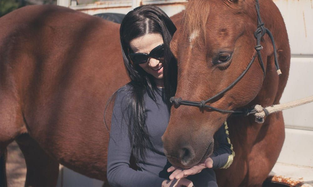 """Cowgirl Magazine"" - Horse Crazy"