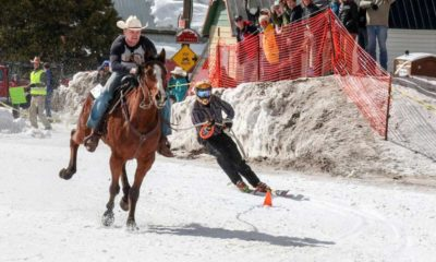 Cowgirl - Skijoring