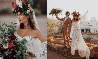 flower child bride flowers bridal bride cowgirl magazine