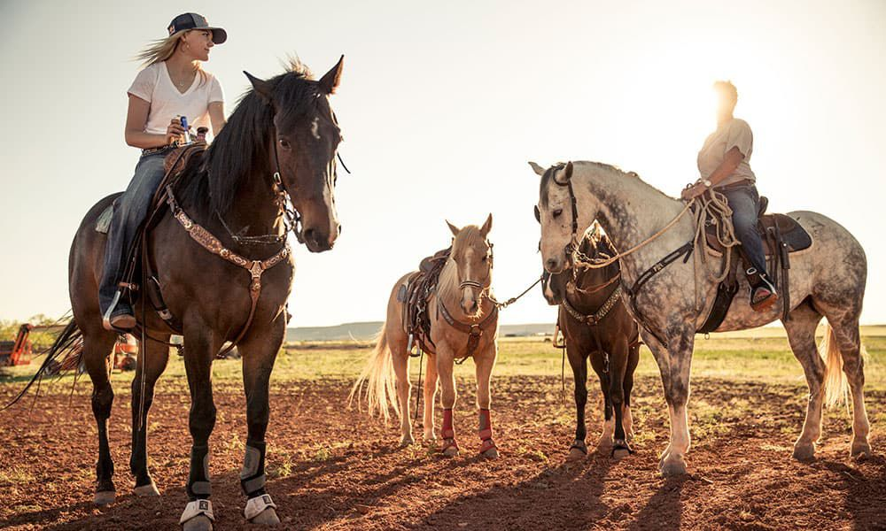 Jackie Ganter Barrel Racer Rodeo Wrangler National Finals Rodeo Cowgirl Magazine