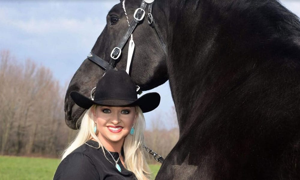 Percheron Draft Horses Kellie Rettinger Road to the Horse Cowgirl Magazine