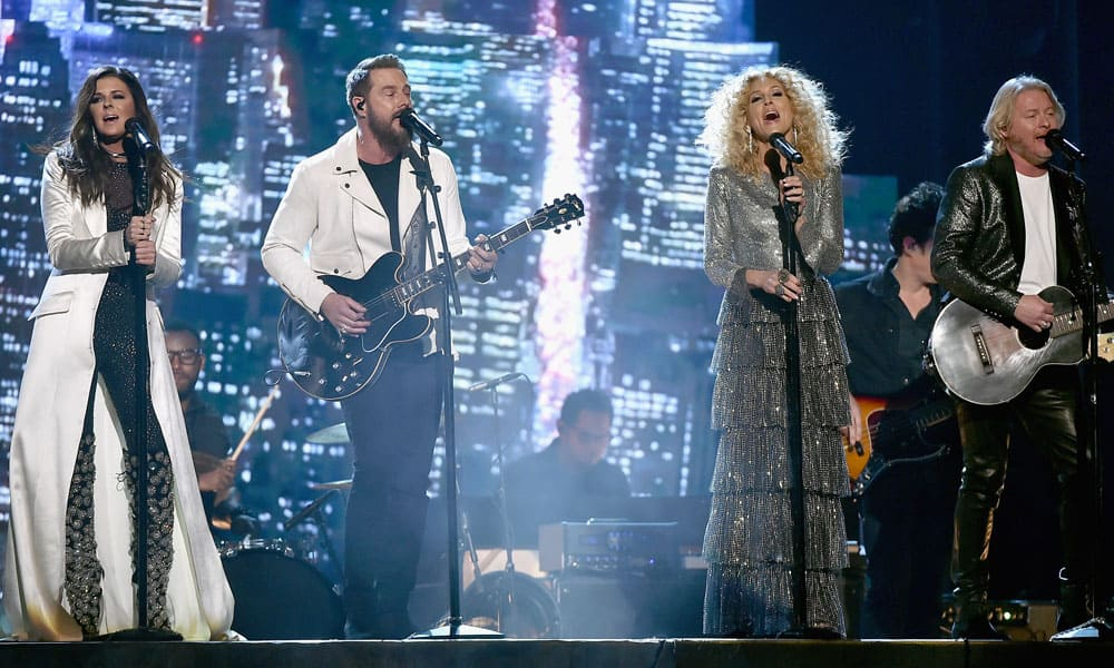 "Little Big Town Performs ""Better Man"" from their album The Breaker at the 60th Annual Grammy Awards, 2018 Cowgirl Magazine"
