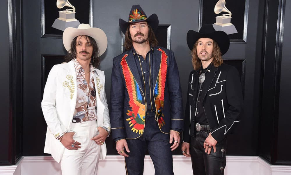 Midland on the red carpet of the 60th Annual Grammy Awards, 2018 Cowgirl Magazine
