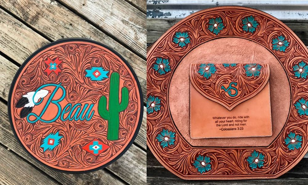 Outlaw Spirit Western Hand Tooled Leather Rope Bags Cowgirl Magazine