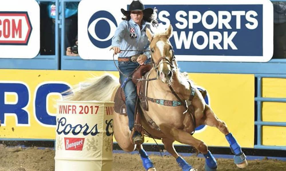 Hailey Kinsel Barrel Racer Barrel Racing Horse Sister WNFR Cowgirl Magazine