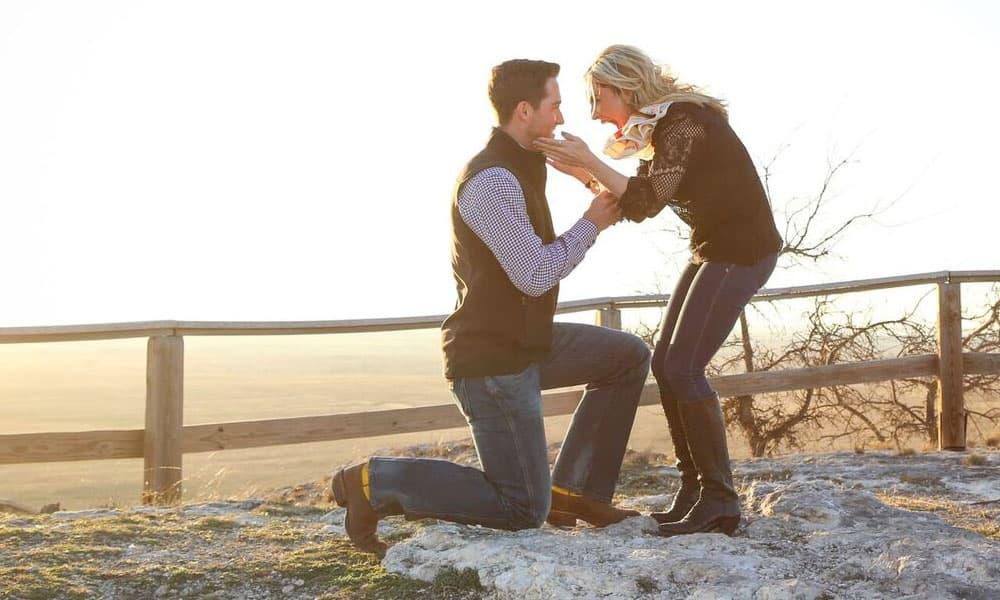 Kadee Coffman Elliott Blair Wedding Engagement Kristen Davis Photography