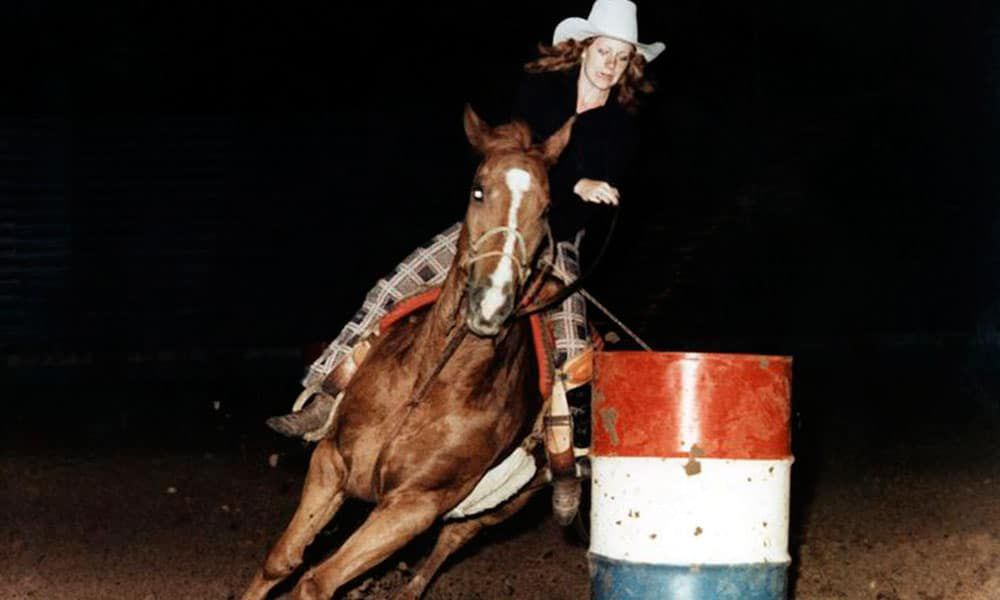 Reba Rodeo Queen Barrel Racing Country Music Cowgirl Magazine