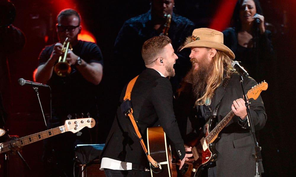 Justin Timberlake Chris Stapleton Collaboration Cowgirl Magazine