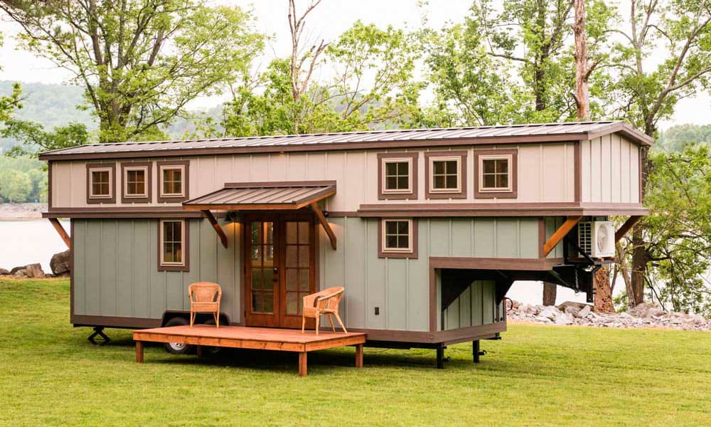 Tiny House Floor Plans Small Cabins Tiny Houses Small: This Gooseneck Tiny Home On Wheels Is Perfect For Anyone