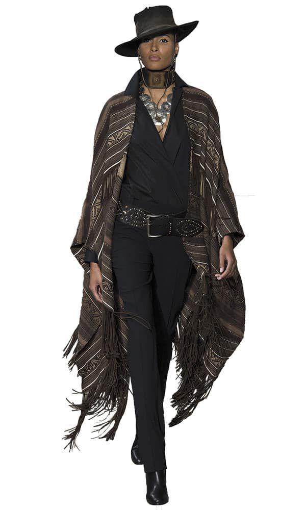 Ralph Lauren High Fashion Runway Cowgirl Magazine