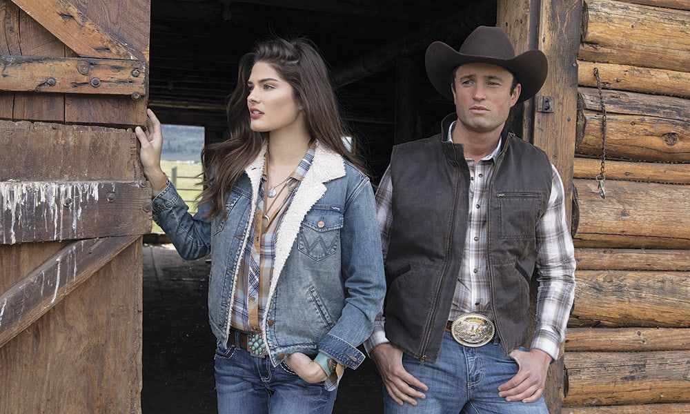 Shearling Jacket Cowgirl Magazine