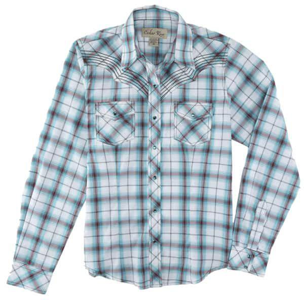 Cowgirl Magazine Plaid Shirt