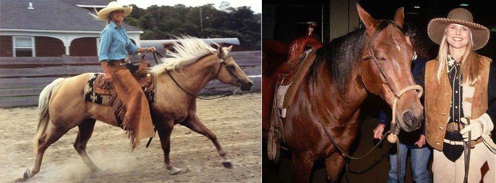 """""""Cowgirl Magazine"""" - Celebrity Cutting Horses"""