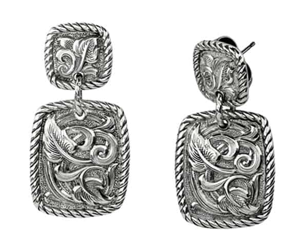 Gist Silversmiths Earrings Cowgirl Magazine