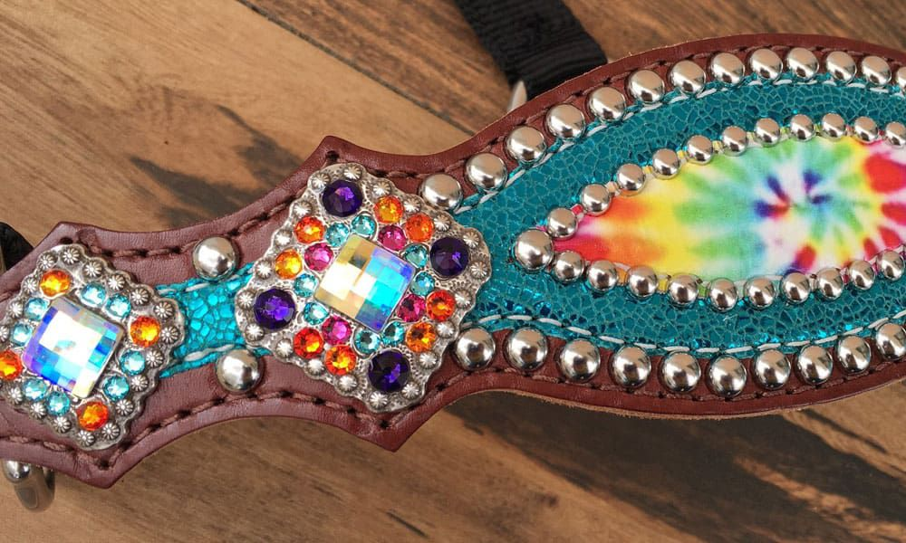 """""""Cowgirl Magazine"""" - Bling Halters"""