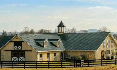 """""""Cowgirl Magazine"""" - Luxury Barns"""