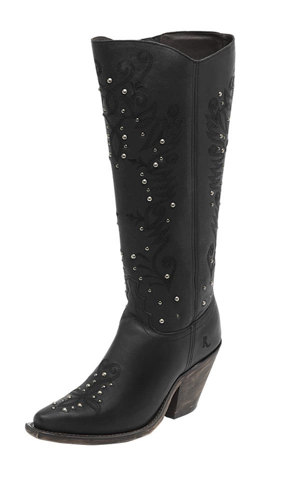 Reba Justin Boots Cowgirl Magazine Queen Boot