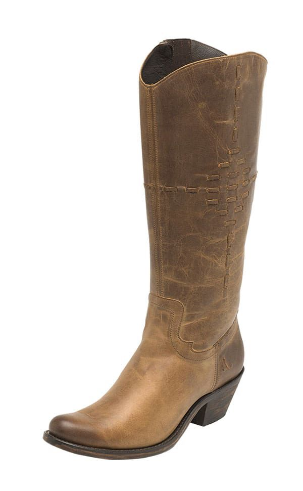 Reba Justin Boots Cowgirl Magazine Mcalester Boot