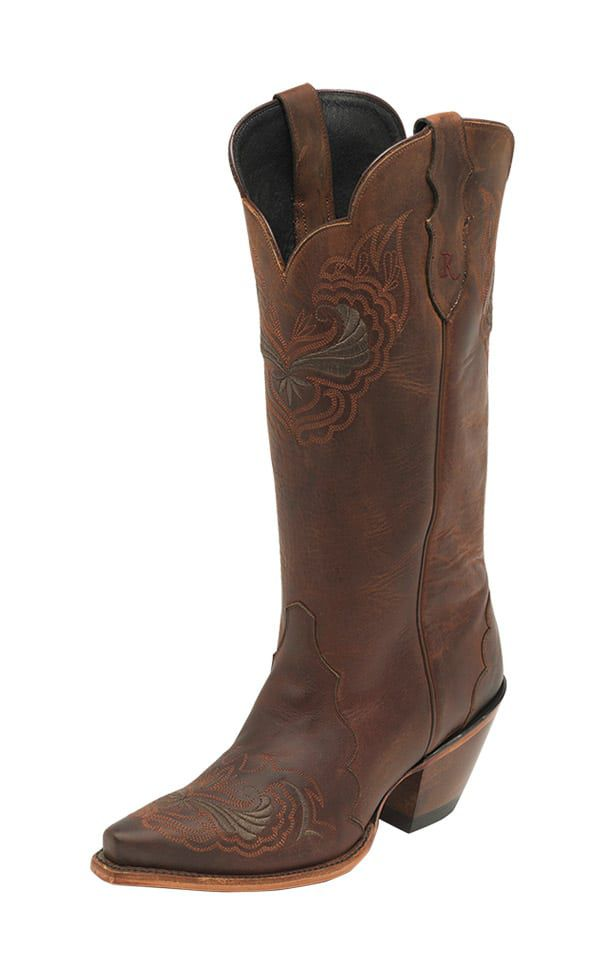 Reba Justin Boots Cowgirl Magazine Chelsea Boots