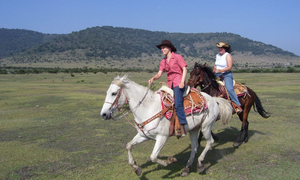 """Cowgirl Magazine"" - Horseback Riding Escape"