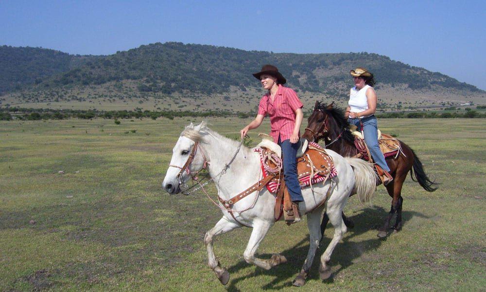 """Cowgirl Magazine"" - Horseback Riding Escape"