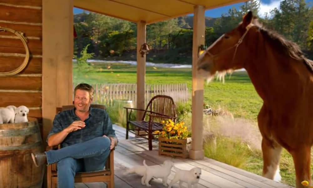 The Voice Super Bowl Commercial Cowgirl Magazine